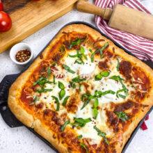 Pizza Margherita Cast Iron Recipe