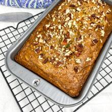 Pecan Zucchini Bread