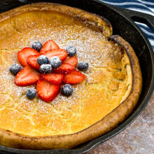 Dutch Baby Pancakes Cast Iron Recipe