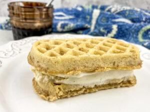 Kid-Friendly Waffle Ice Cream Sandwiches Warm Weather Favourite Recipe