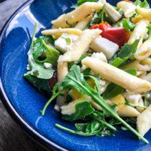 Chilled Mediterranean Pasta Salad