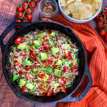 Easy Beef Taco Skillet | One-Skillet Recipes