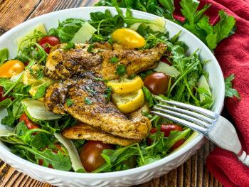 Chicken Paillard Salad | Healthy 30-Minute Meals