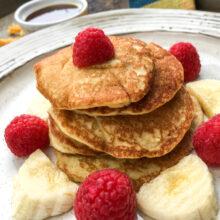 Coconut Flour Pancakes | Breakfast and Brunch