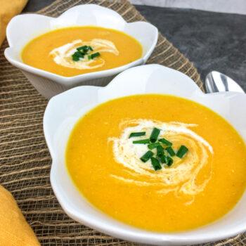 Creamy Golden Gazpacho Soup   Soups and Salads