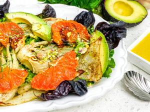 Roasted Fennel and Grapefruit Salad
