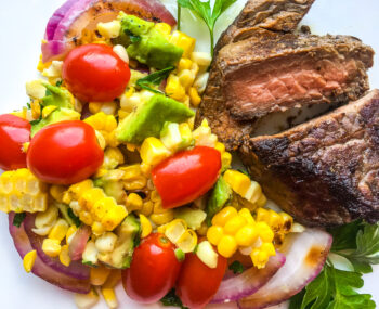 Grilled Corn and Cherry Tomato Salad   Quick and Easy
