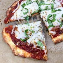Easy Weeknight Keto Pepperoni Pizza | Ketogenic Recipes