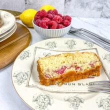 Lemon Raspberry Loaf