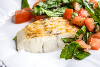 Parmesan Haddock with Fresh Tomatoes and Basil | 5-Ingredient Recipe