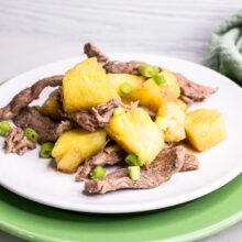 Pineapple Beef Stir Fry | 5-Ingredient Recipe