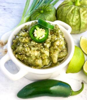 Garden-Fresh Salsa Verde