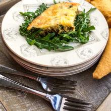 Baked Sweet Potato Frittata | Breakfast and Brunch