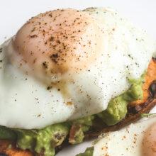 Sweet Potato and Avocado Breakfast Toast | Quick and Easy