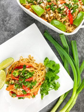 Vegetable Pad Thai | Healthy 30-Minute Meal