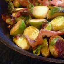 Pan Roasted Brussels Sprouts and Bacon | Living Low Carbs Recipes
