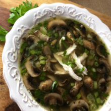 Chicken Marsala Soup | Healthy 30-Minute Meal Recipes
