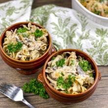 Chicken and Portobello Mushroom Casserole | Monthly Kitchen-Tested Recipes