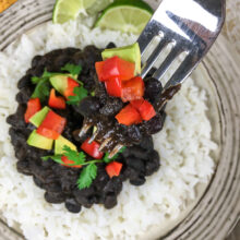 Instant Pot® Cuban-Style Black Beans and Rice | Pantry Staples Recipes