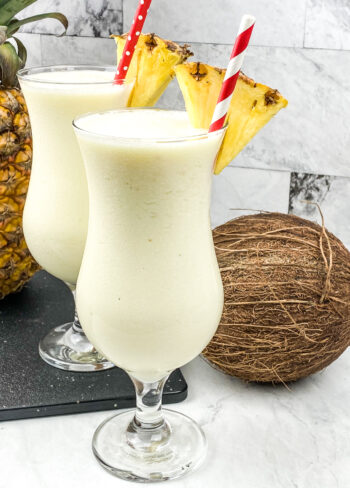 Frozen Pina Colada   Cocktails and Mocktails and Appetizers Recipes