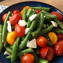 Green Bean Salad with Tomatoes and Feta   Healthy 30-Minute Meal Recipes