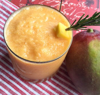 Frozen Mango Slushy | Cocktails and Mocktails and Appetizers Recipes
