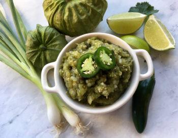Garden-Fresh Salsa Verde | Farmer's Market Finds Recipes
