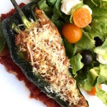 Chorizo-Stuffed Poblano Peppers   Farmer's Market Finds Recipes
