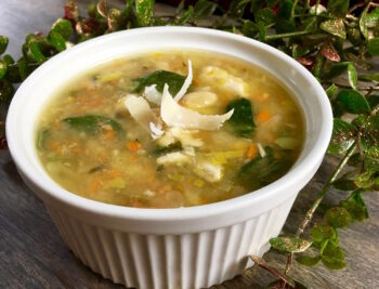 Spicy Leftover Turkey and White Bean Soup | Healthy Holiday Recipes